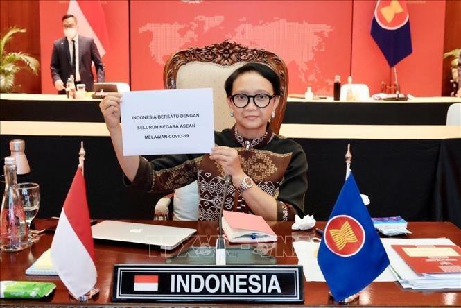 인도네시아 및 태국 국가원수, 코로나19 관련 아세안 특별회담 참석 예정 - ảnh 1