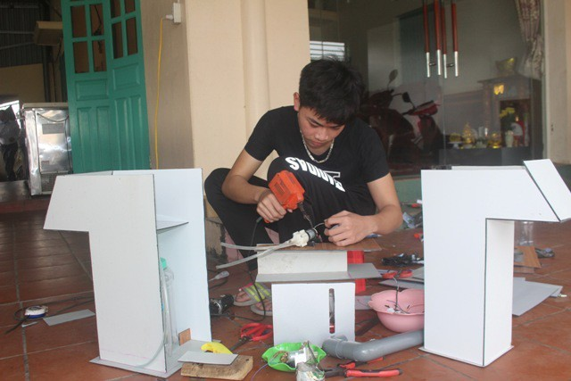 효과적인 방역을 위한 베트남 청년들의  발명품 - ảnh 3