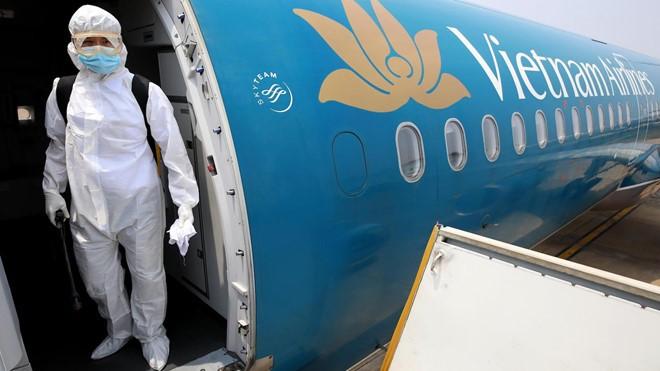 미국 출발 베트남 국민 귀국 항공편에 대한 통신 - ảnh 1