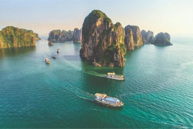 Travel and Leisure 웹사이트, 아시아의 유람선 관광지 세 곳을 소개했다 - ảnh 1