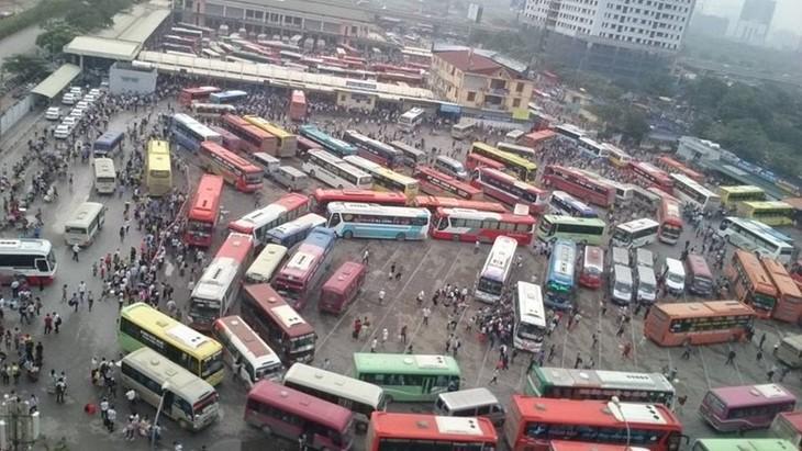 하노이, 대규모 성간 버스 터미널 계획 승인 - ảnh 1