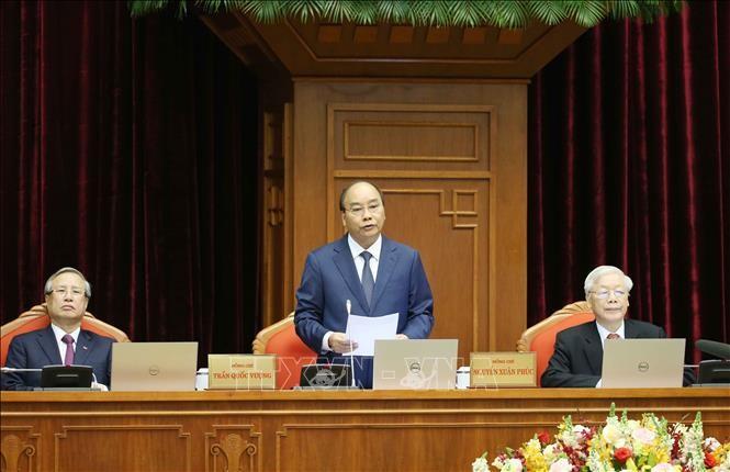 제12기 베트남 공산당 중앙 집행부 제12차  첫날  회의 - ảnh 1