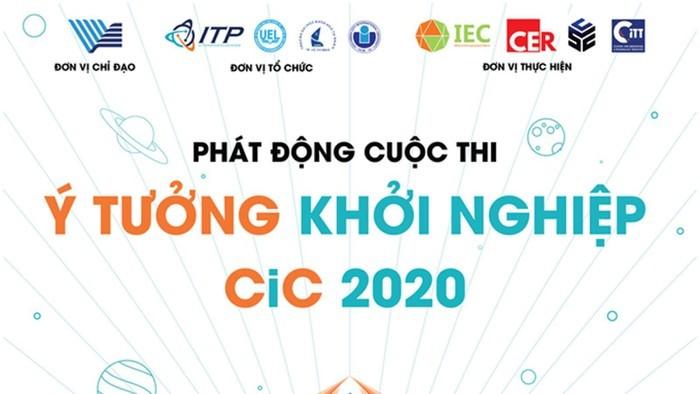 호찌민시 국가대학 창조혁신창업센터, '창업 아이디어- CiC 2020' 경연대회 개최 - ảnh 1