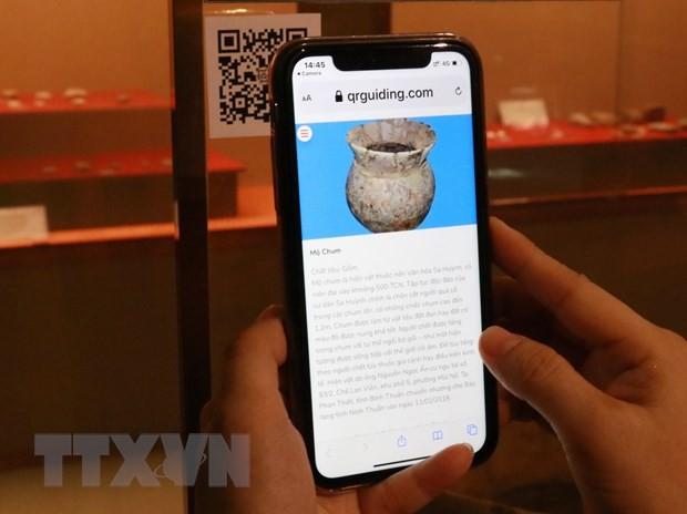 닌투언 성의 박물관,스마트폰 QR코드 활용으로 새로운 경험을 제공 - ảnh 1