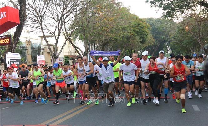 2020년 국제 마라톤 시상식 - ảnh 1