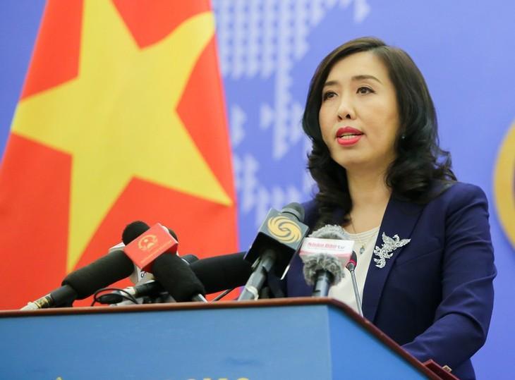 베트남, 중국의  동해상 국제법 위반 행위에  반대 - ảnh 1