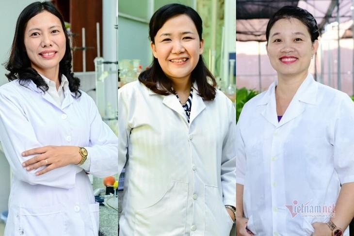 베트남,100 대 과학자 명단에 3 명의 여성 과학자가 선정되었다 - ảnh 1