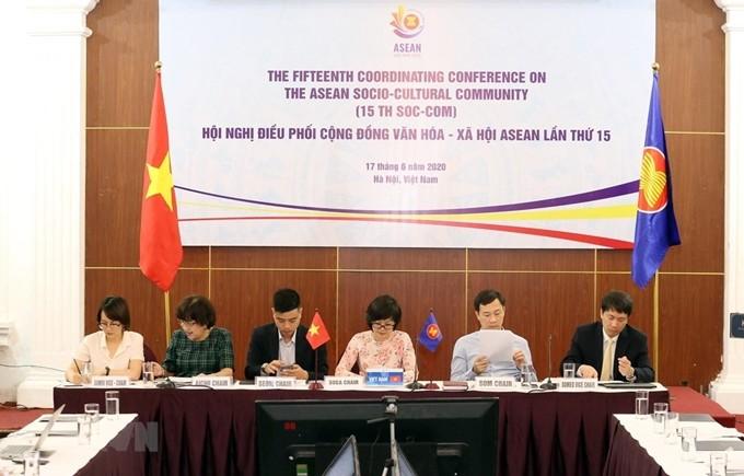 제 28 차 아세안 문화사회공동체 고위관리회의, 2020 년 의장단의 5 가지 우선 순위를 강조    - ảnh 1