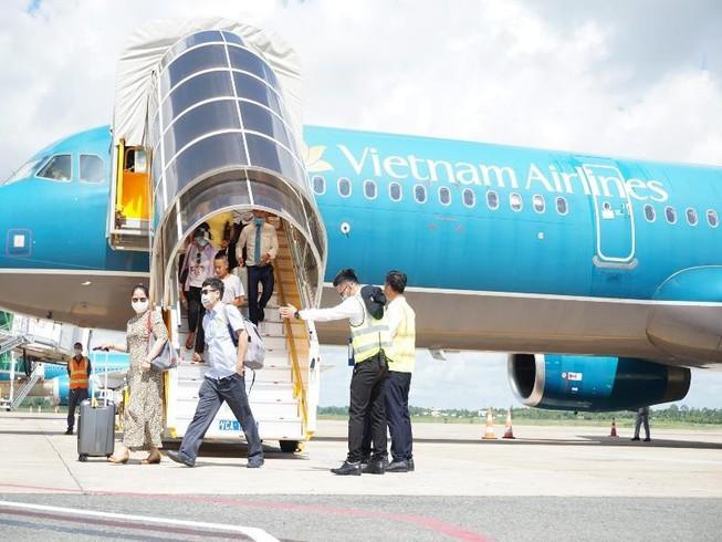 껀터 (Cần Thơ) 국제항공,새로운 노선을 공식적으로  운영한다 - ảnh 1