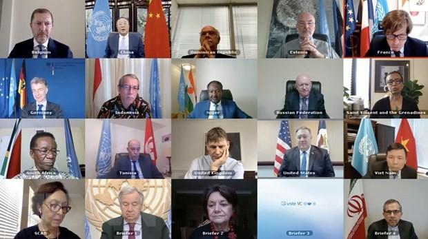 유엔 안보리, 중앙아시아 예방외교 지역센터의 활동에 대하여 토론 - ảnh 1