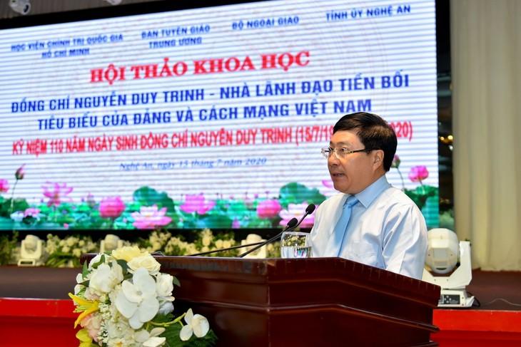 응우옌 주이 찐 – 베트남 혁명과 당의 대표적 지도자 - ảnh 1