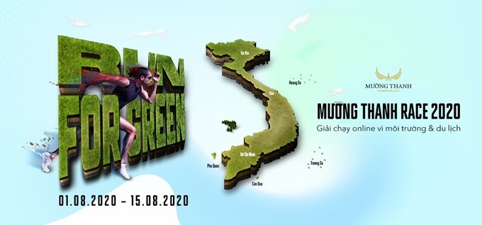 '2020년 므엉탄 레이스 - Run for green' 온라인 경주 대회 - ảnh 1