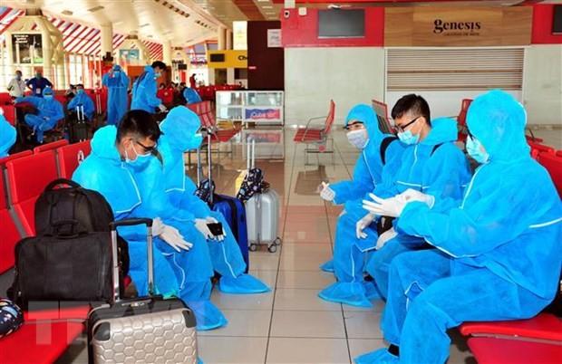 독일, 쿠바, 코트디부아르, 기타 아프리카와 유럽 국가발 540 여 명의 베트남 국민을 무사히 귀국 조치 - ảnh 1