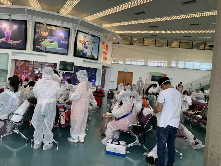 대만(중국) 체류 베트남 국민 안전 귀국 - ảnh 1