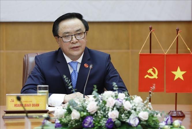 베트남-중국, 교류 및 협력 심화에 실질적 조치를 제안 - ảnh 1