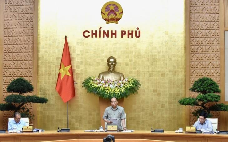 응우옌 쑤언 푹 총리, 코로나19 대책 논의 전국 온라인 회의 주재 - ảnh 1