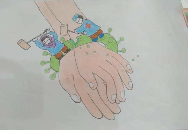 코로나19 관련 그림그리기 대회 - 꿈 속의 여름 그리기 - ảnh 13