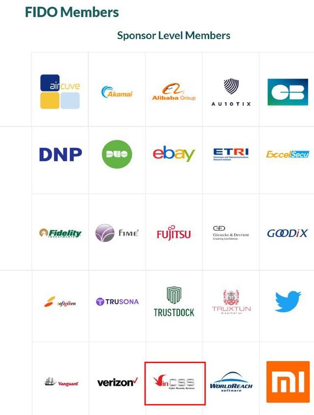 인터넷 보안 서비스업체 VinCSS,베트남 최초로 국제생체인증표준협회(FIDO Alliance)에 가입했다 - ảnh 1