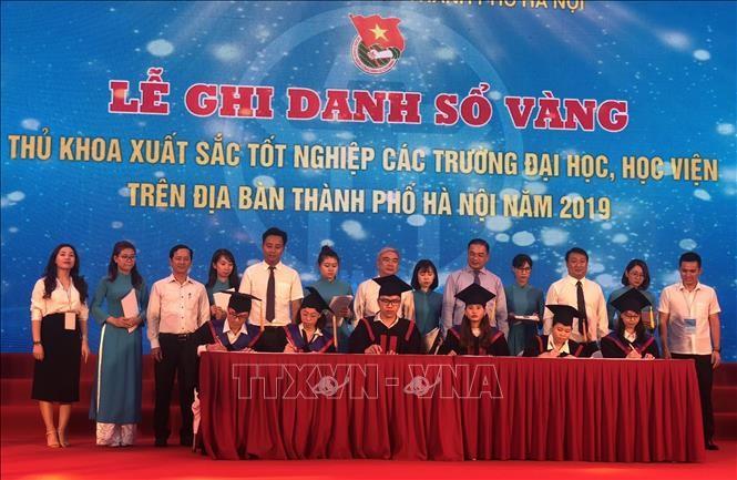 하노이, 젊은 지식인 및 인재 유치 여건 조성에 관심 - ảnh 1