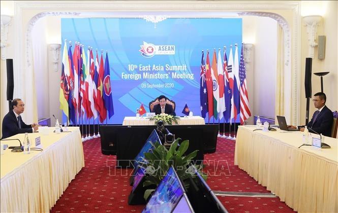 동아시아정상회의: 15년간의 협력 계기와 새로운 단계 방향 결정 - ảnh 1