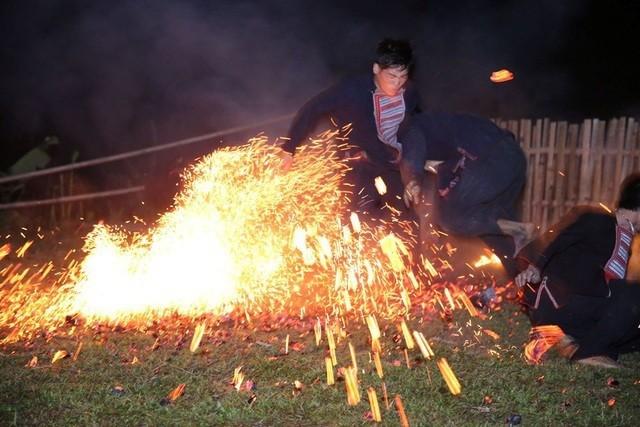 자오도족 불춤 축제, 국가무형문화유산 지정 - ảnh 1