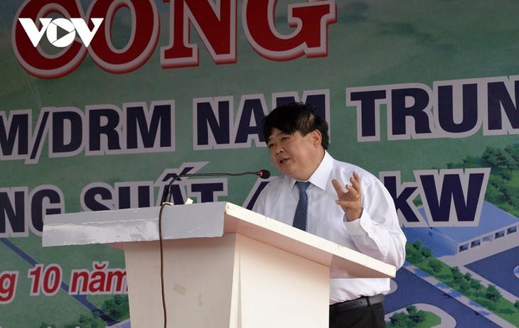 베트남 중남부 방송국 착공식: 베트남의 소리, 동해의 가청지역을 확대 - ảnh 2
