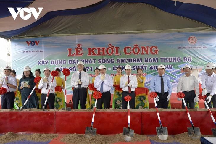 베트남 중남부 방송국 착공식: 베트남의 소리, 동해의 가청지역을 확대 - ảnh 1
