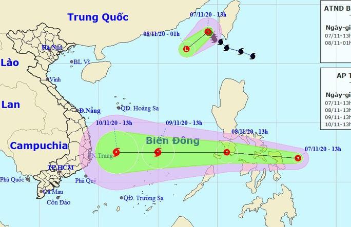 태풍 아타우, 열대성 저기압으로 쇠약, 베트남 동해에는 새 태풍 계속 - ảnh 1