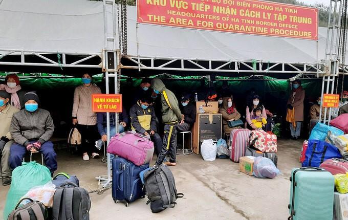 설날 격리를 염두에 둔 베트남 해외 노동자 조기 귀국 조치 - ảnh 1