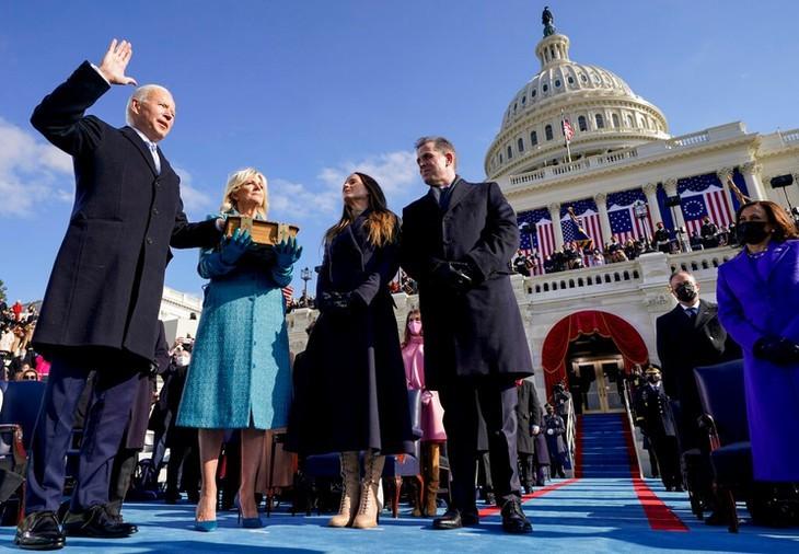 조 바이든 미국 신임 대통령, 단결의 메시지 전달 - ảnh 2