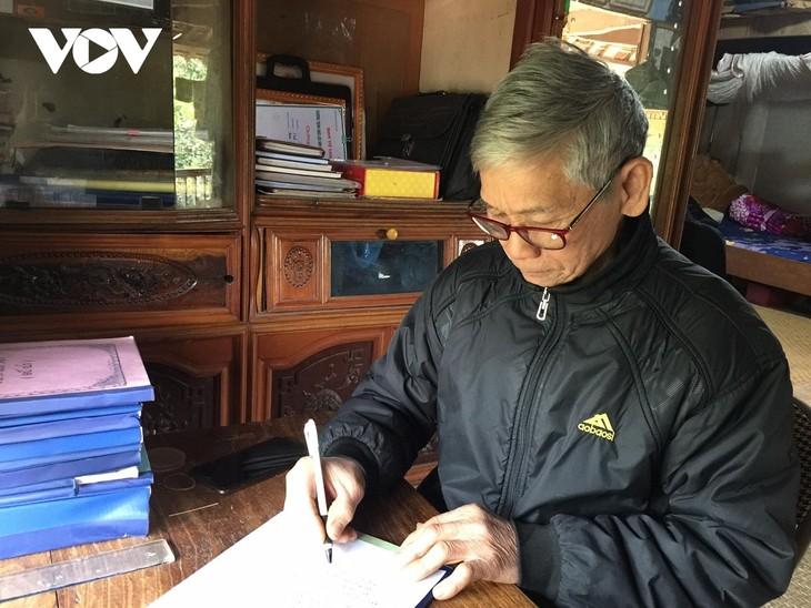 타이 (Thái)족 문화를 보존하려고 애쓰는 사람 - ảnh 1