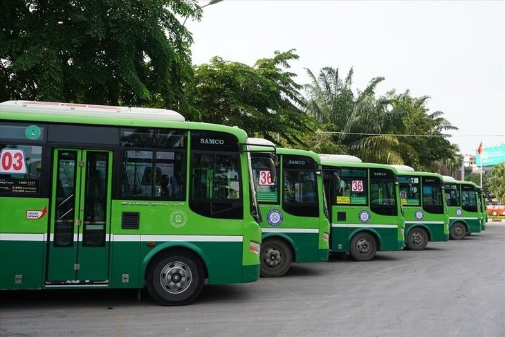 호찌민시 미니버스 운행 가시화 - ảnh 1