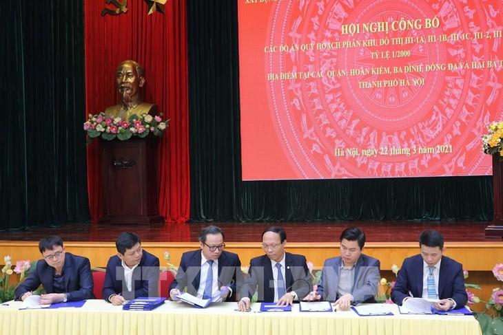하노이, 역사적 도심 배치 계획 공지 - ảnh 1