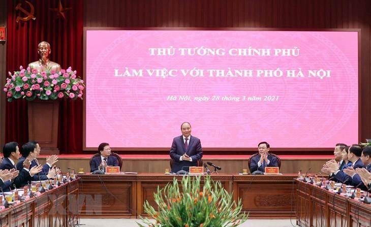 정부, 하노이의 발전에 부합한 정책 마련 - ảnh 1