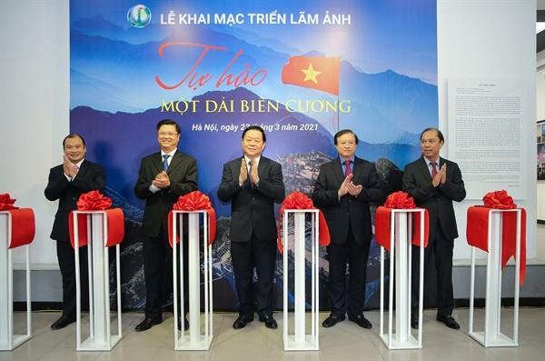 '자랑스러운 국경지대' 사진 전시회 - ảnh 1