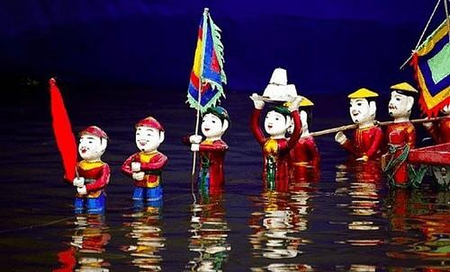 2021년 하노이 아마추어 수상인형극 예술제 - ảnh 1