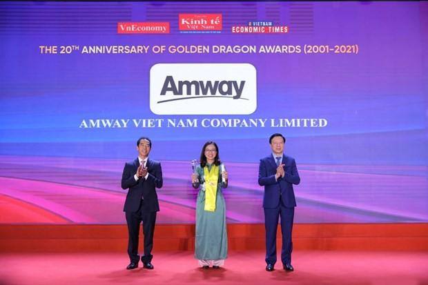 암웨이 베트남, 10년 연속 성공적 FDI 기업 선정 - ảnh 1