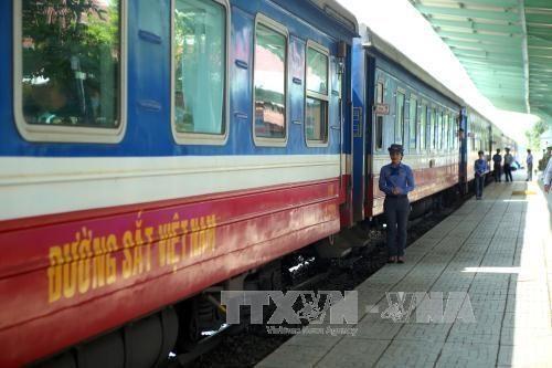 여름방학 중 북-남 철도 열차 증편 - ảnh 1