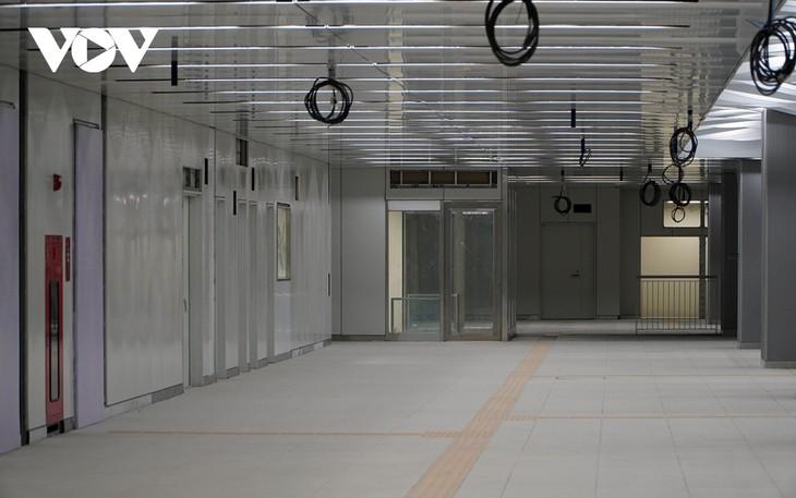 호찌민시, 메트로 1호선 바선(Ba Son)역 지하 1층 역사 완공 - ảnh 1