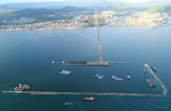 끼엔장성 푸꾸옥 국제여객항: 2021년 3분기 중 완성  예정 - ảnh 1
