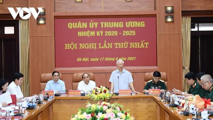 ベトナム人民軍 祖国・党・国家・国民に忠実 - ảnh 1