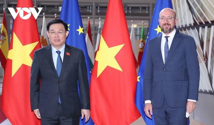 베트남, EU 및 EP와 EVFATA 효과적 이행 협력   - ảnh 1