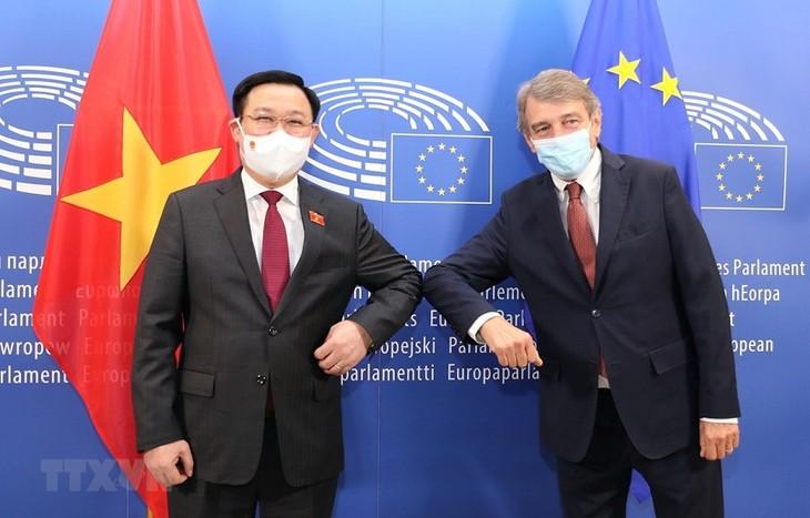 베트남, EU 및 EP와 EVFATA 효과적 이행 협력   - ảnh 2