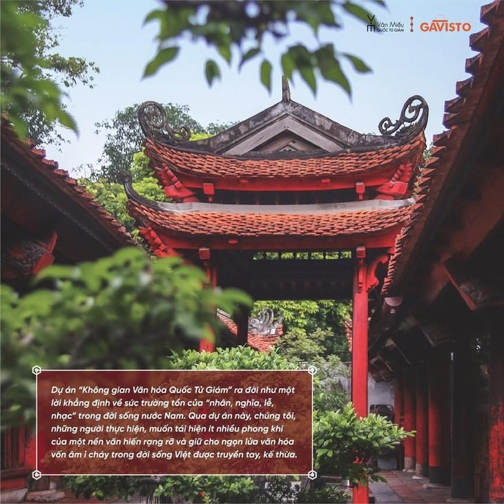 하노이 문묘 국자감 유적지의 공간적 가치 개발 사업 - ảnh 2