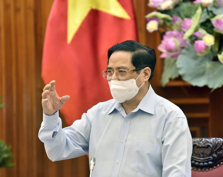 នាយករដ្ឋមន្រ្តីលោក Pham Minh Chinh អញ្ជើញជួបធ្វើការជាមួយក្រសួងសុខាភិបាល - ảnh 1