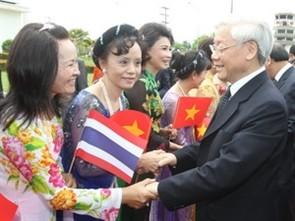 សារព័ត៍មានថៃវាយតំលៃខ្ពស់ដំណើទៅបំបេញទស្សនកិច្ចរបស់អគ្គលេខាបក្ស Nguyen Phu Trong - ảnh 1