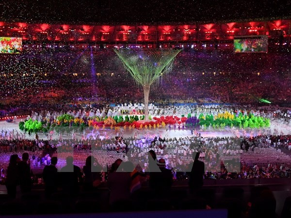 ពិធីបិទបញ្ចប់ការប្រកួតកីឡា Olympic ឆ្នាំ ២០១៦   - ảnh 1