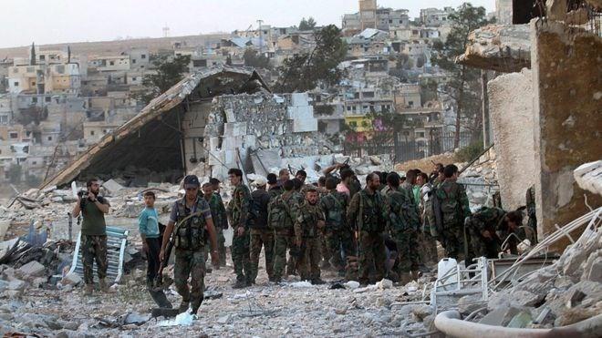 ការប៉ះទង្គិចកើតមានឡើងនៅទីក្រុង Aleppo បន្ទាប់ពីបទឈប់បាញ់អស់សុពលភាព - ảnh 1
