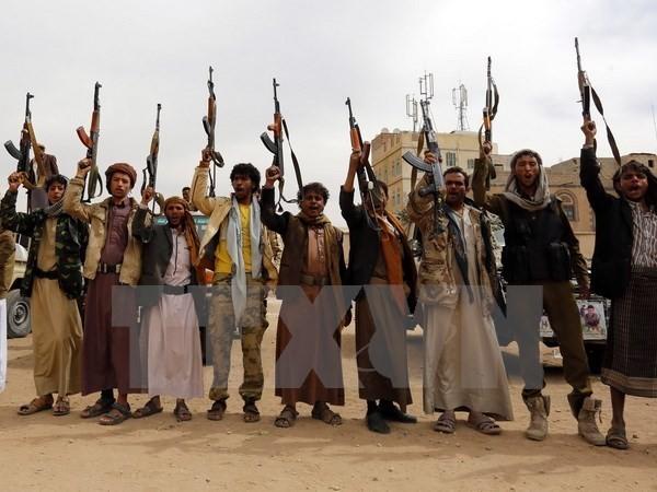 អ.ស.បដាស់តឿនក្រុមឧទ្ទាម Houthi នៅយេម៉ែនទំលាក់អាវុធ - ảnh 1