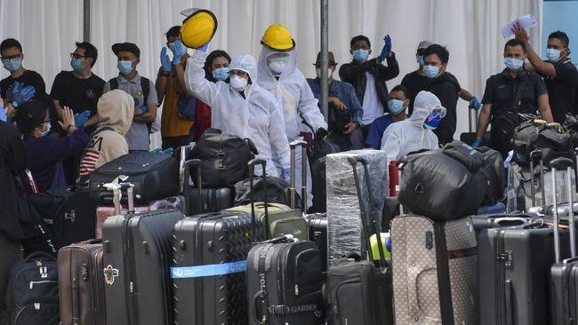 Indonesia menyambut lebih dari 90.000 warga negaranya yang pulang ke Tanah Air karena dampak wabah Covid-19 - ảnh 1